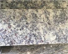 China Blue Pearl Flower Purple Granite Tops