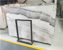 China Yabo Grey Marble Slab