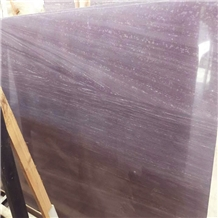Chinese Purple Wooden Marble Slab