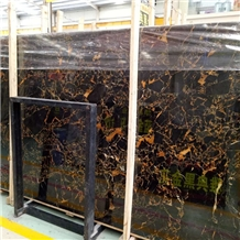 Chinese Vendome Noir Gold Marble Slab