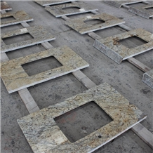 Diamond Gold Granite Bathroom Tops