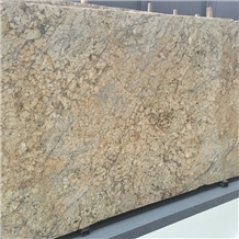 Diamond Gold Granite Slabs