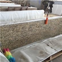 Giallo Santa Cecilia Dark Granite Countertops