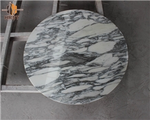High Quality Arabescato White Marble Dining Table