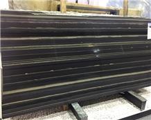 High Quality Nera Siena Black Marble Tile