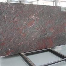 Iron Red Granite Slabs