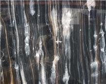 Luxury Phantom Black Marble Slab Price