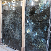 Madagascar Labradorite Blue Granite Slabs