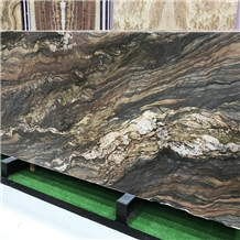 Multicolor Fusion Quartzite Slabs