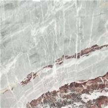 New Polished Ice Blue Marble Slab
