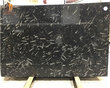 Ocean Jura Nero Black Fossil Marble