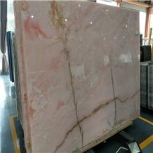 Pink Onice Rosa Onyx Slab