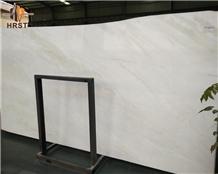 Polished Mystery/Bianco Rhino White Marble Slab