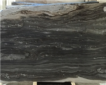Polished Palissandro Blue Galaxy Marble Tile