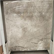 Polished Paris Grey Marble Slab for Wall