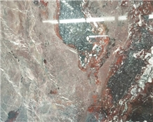 Red Jasper Marble Slab for Wall