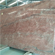 Red Revolution Wave Quartzite Slab