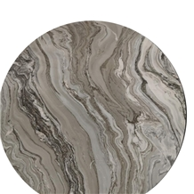 Restaurant Round Dining Stone Table Top