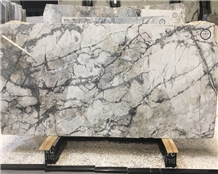 Snowy River White Marble with Black Veins Price