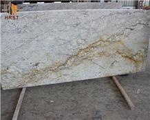 Table Top River Yellow Granite Countertop