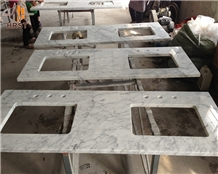 White Carrara Marble Table Top