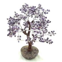 Natural Amethyst Quartz Gem Stone Money Tree