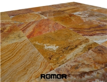 Autumn Travertine Tiles and Slabs