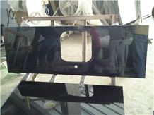 China Black Granite Kitchen Countertops