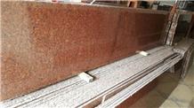 India Red Granite Slabs