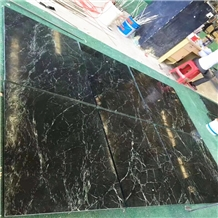 Italy Dark Green Verde Mare Marble Flooring Tiles
