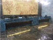 Labradorite Granite Hotel Commercial Countertops