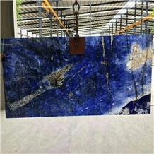 Luxury Blue Lapis Lazuli Slab