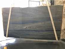 Luxury Blue Ocean Azul Imperial Quartzite Slab