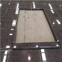 New Mahogany Wall Cladding Granite Tiles