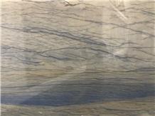 Polished Blue Ocean Azul Macaubas Quartzite