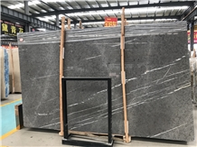 Polished Butterfly Grey Marble Stone Slabs