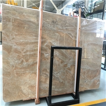 Polished Italy Pink Breccia Aurora Marble Slabs