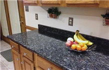 Polished Sapphire Blue Granite Kitchen Countertop