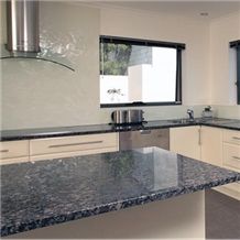 Sapphire Blue Granite Prefab Kitchen Worktops