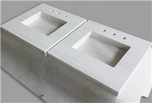 Acrylic Solid Surface Vanity Tops for Hotel Baths