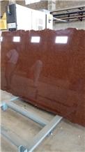 Rosso Perla Granite Slabs