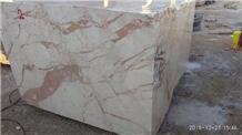Camelia Beige Marble Block, Iran Beige Marble