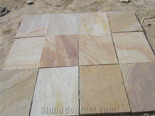 Camel Dust Sandstone Paving Slabs From