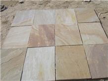 Camel Dust Sandstone Paving Slabs