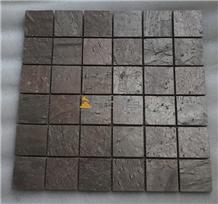 Copper Slate Mosaic Wall Tiles