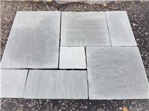 Kandla Grey Sandstone Paving Slabs & Tiles