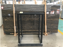 Black Golden Dragon Marble Slab Tile Price