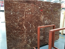 Cheap Polished Rose Red Marble Slabs Price