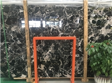 Chinese Century Black Ice Marble Slab Price