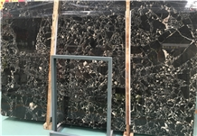 Factory Cheap Price Black Gold Marble Slabs